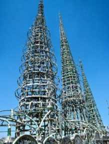 Sabato Rodia, Watts Towers, East Los Angeles, CA